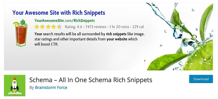 افزونه All In One Schema.Org Rich Snippets