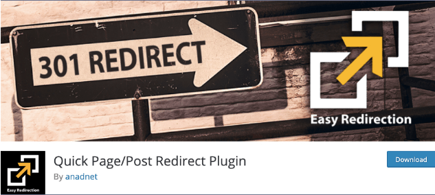 افزونه وردپرس Quick Page/Post Redirect Plugin