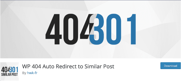افزونه وردپرس WP 404 Auto Redirect to Similar Post